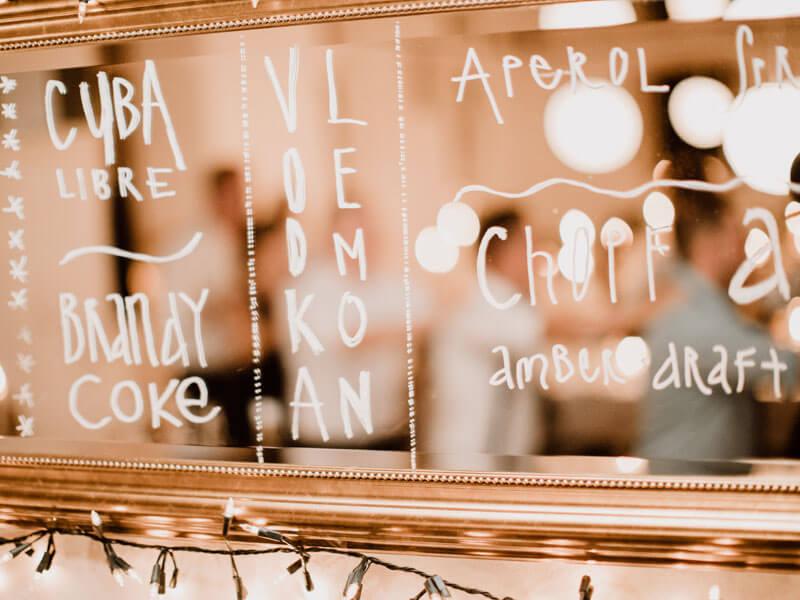 Apérovorschläge auf Spiegel